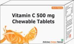 Vitamin C 500 Mg Chewable Tablets / Ascorbic Acid Chewable Tablets 500 Mg