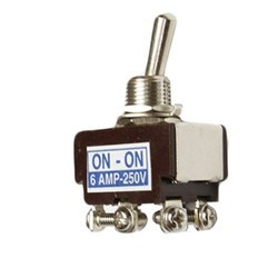 6 Amp DPDT Momentary Toggle Switch