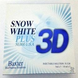 3d Snow White Plus 50000mg Usa Glutathione Injections