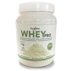 Proxima Whey Protein Supplement, Packaging Type: Plastic Container