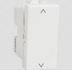White Hevells 16 AX 2 Way Modular Switches