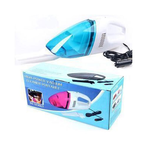 Blue & White Plastic Dry Vacuum Cleaner