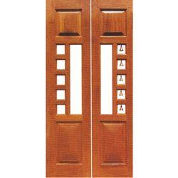 Teak Wood Pooja Door