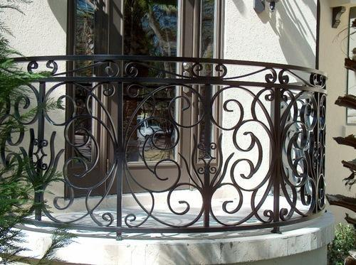 Modern Balcony Steel Railing Designs Pictures 6