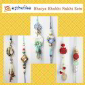 Fancy Bhaiya Bhabhi Sets Lumbas Rakhis