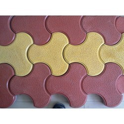 Concrete Interlocking Paver Blocks, For Landscaping, Thickness: 60 Mm