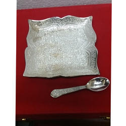 Silver Plated Plate