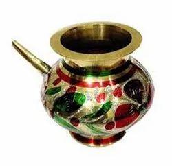 Polished Karwa Lota, For Worship