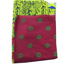 Casual Wear Printed Banarasi Cotton Saree, 5.5 m (separate blouse piece)