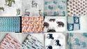 Animal Printed Hand Block Print Cotton Fabric