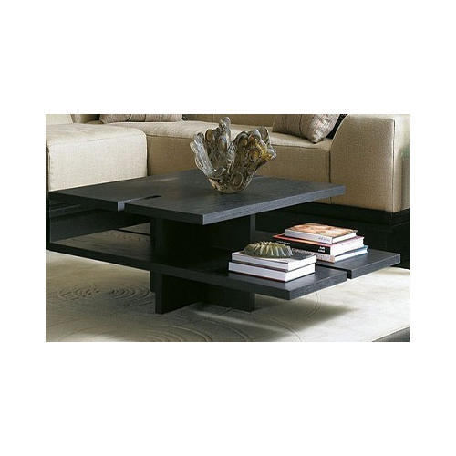 Black Wooden Living Room Center Table, Centre Tables For Living Rooms