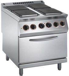 Hot Plate Square Oven