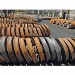 Cast Iron Rail Wheel