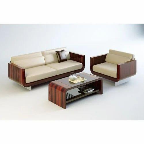 Wooden Office Sofa Set at Rs 30000/set | वुडन सोफा सेट ...