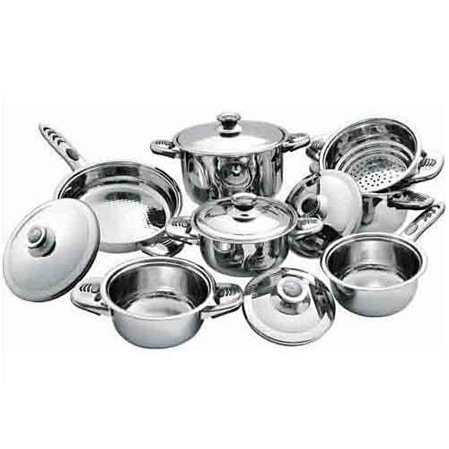 Stainless Steel Utensils At Rs 4500 /set