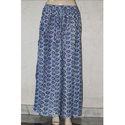 Rayon Indigo Skirts