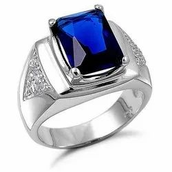Natural Blue Sapphire Ring (Neelam)