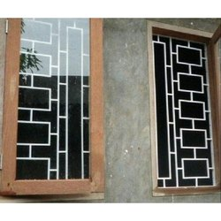 Horizontal Coated Steel Safety Window