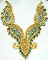 Marigold Beaded & Sequins Neckline