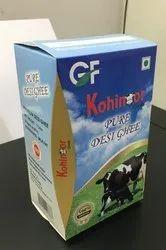 Multicolor Desi Ghee Packing Box Empty, Size: 1kg, Packaging Type: Cardboard