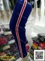 Cotton Side Stripe High Waist Leggings