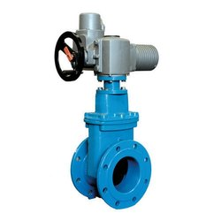 Multi Turn Electrical Actuator Operated Gate Valve