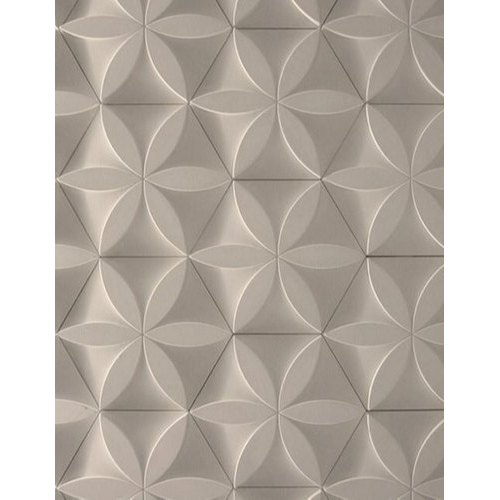 Grey MDF 3D Designer Panel, Thickness: 12 mm