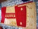 Red Party Wear Fancy Lahanga Style Designer Saree