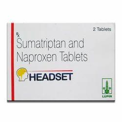 Headset - Sumatriptan & Naproxen Tablets