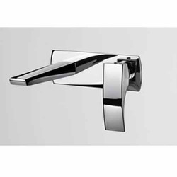 Stainless Steel Square Queo Bathroom Faucets
