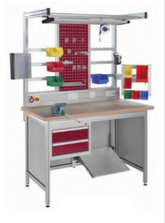 Assembly Line Smart Factory Workstations