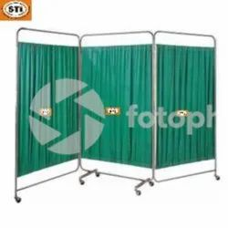 Modern Hospital Bed Side Screen / Hospital Curtain