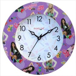 Analog Festival Plastic Wall Clock, For Home, Office