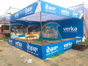 Printed Multicolor Promotional Canopy