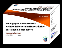 Teneligliptin And Metformin Hydrochloride Tablet
