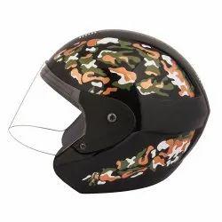 Hustler Half Face Helmet