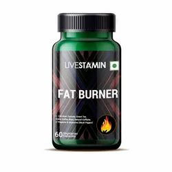 Fat Burner Capsules With Natural Caffeine, Green Tea, L-Carnitine Tartrate Weight Loss Supplement