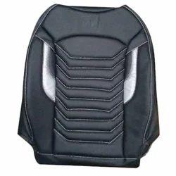 Auto Classic Plain Car Black Seat Cover