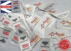 Printed Satin Label