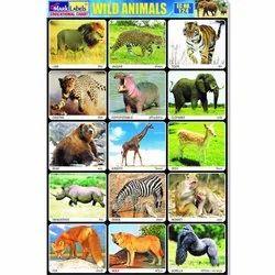 Wild Animals Chart