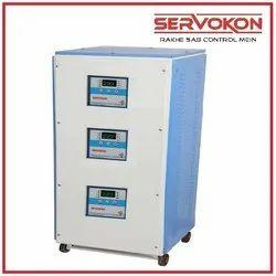 Upto 30 Kva Servokon Three Phase Air Cooled Servo Stabilizers