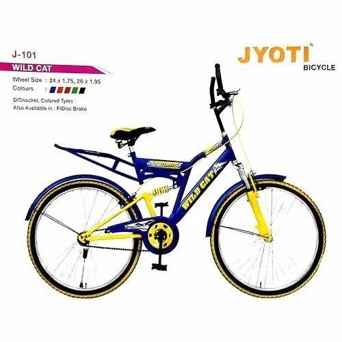3f7248a7f9f Jyoti Red & Green Mens Mountain Bike, Wild Cat, Rs 3000 /piece | ID ...