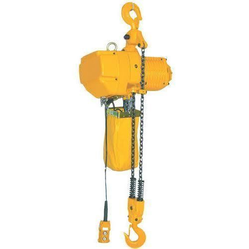 Electric Chain Hoist, Capacity: 0-1 Ton, Rs 32000 /piece Shreeji Traders |  ID: 12758550633