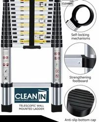 Clean-In Telescopic Wall Mounted Ladder