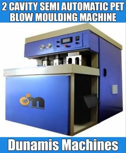 High Speed Semi-Automatic Pet Blow Moulding Machine, 24 Hp 14.5 Kw Per Hour, Capacity: 1800 Bph