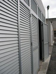 Customized Louver Door with Fixed