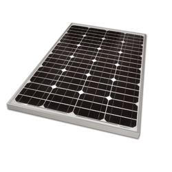 100 W Poly Crystalline Solar Panel, Maximum Power Current: 0.40 A