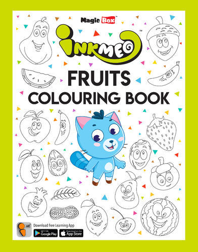 Fruits Colouring Book For Kids