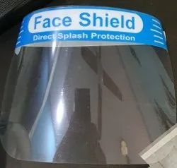 Polycarbonate Non Disposable Face Shield Direct Splash Protection