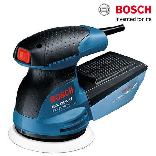 Bosch GEX 125-1 AE Professional Random Orbit Sander, Warranty: 1 year